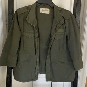 Military 3/4 length jacket